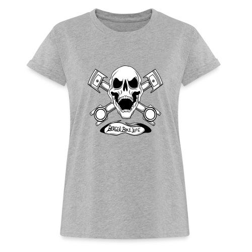 Bergen Bike Life - Oversize T-skjorte for kvinner