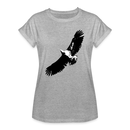 Fly like an eagle - Frauen Oversize T-Shirt