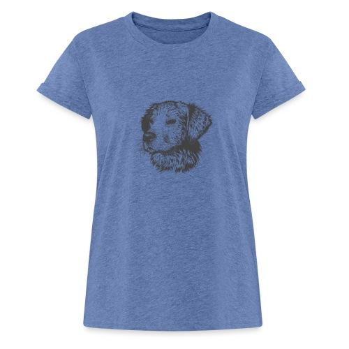 koiran kuva - Naisten oversized-t-paita