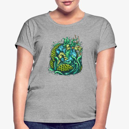 Dieu de la mer - T-shirt oversize Femme