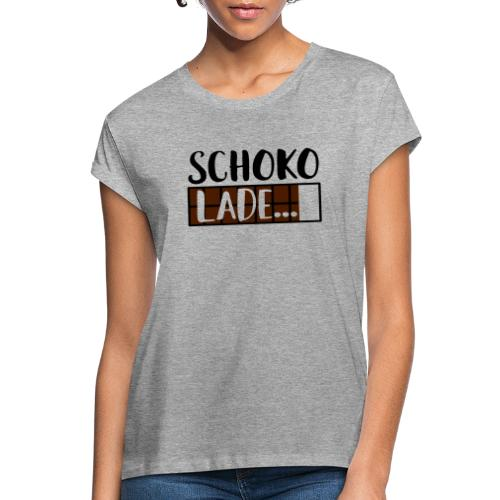 Schokolade Ladebalken Nerd Weihnachtsgeschenk - Frauen Oversize T-Shirt