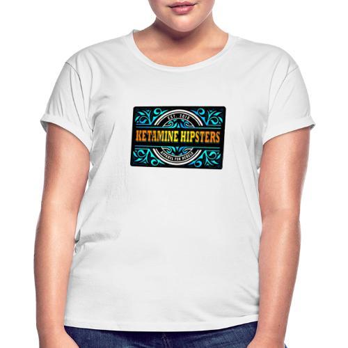 Black Vintage - KETAMINE HIPSTERS Apparel - Women's Oversize T-Shirt