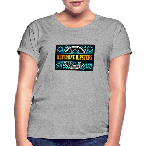 Black Vintage - KETAMINE HIPSTERS Apparel - Women's Oversize T-Shirt