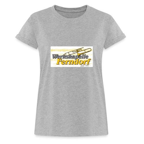 Logo WK Ferndorf - Frauen Oversize T-Shirt