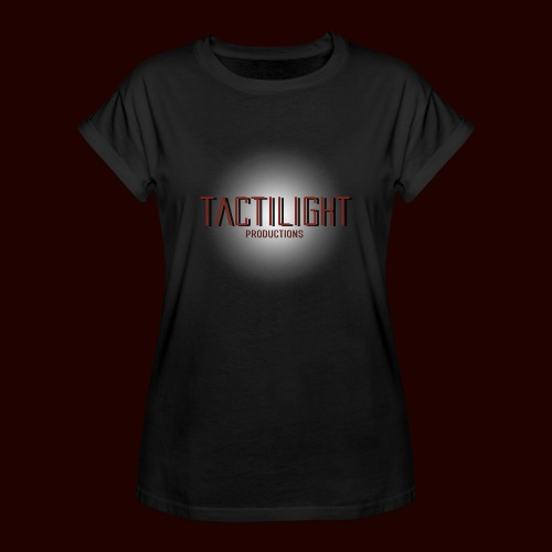 Tactilight Logo - Women's Oversize T-Shirt