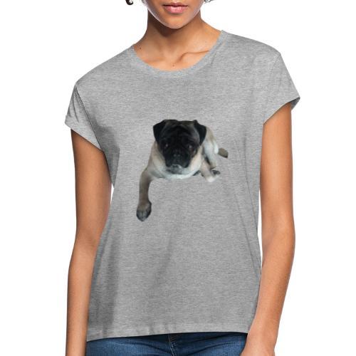 Pug carlino shirt - Camiseta holgada de mujer