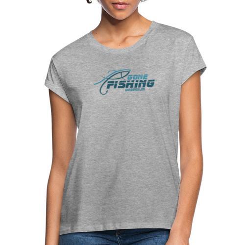 GONE-FISHING (2022) DEEPSEA/LAKE BOAT B-COLLECTION - Women's Oversize T-Shirt