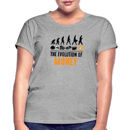 The Evolution of Money - Elon Musk - Camiseta holgada de mujer