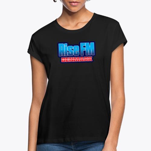 Rise FM Denmark Text Only Logo - Women's Oversize T-Shirt