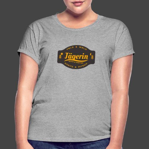Das Jägerin-Shirt für aktive Jägerinnen - Frauen Oversize T-Shirt