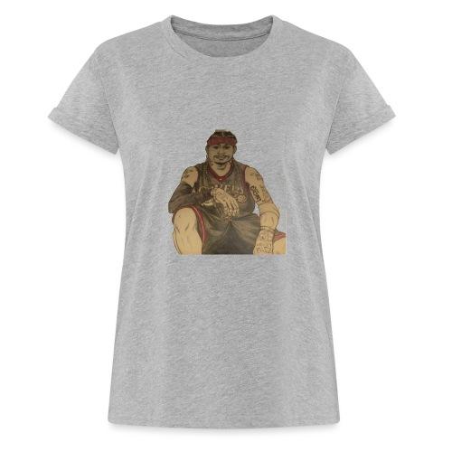 jugador - Camiseta holgada de mujer