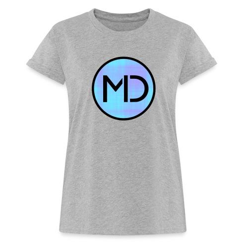MD Blue Fibre Trans - Women's Oversize T-Shirt