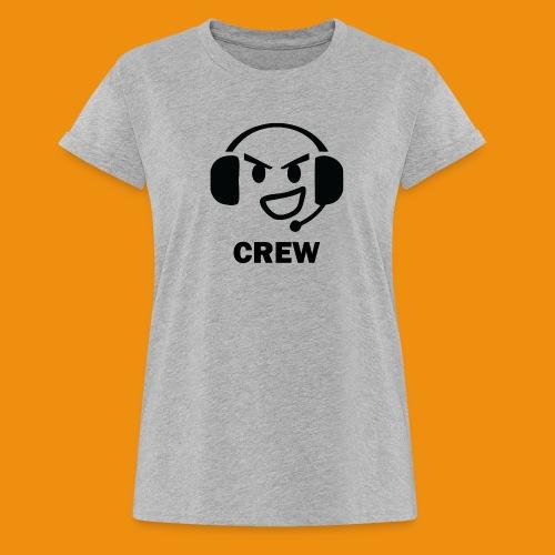 T-shirt-front - Dame oversize T-shirt