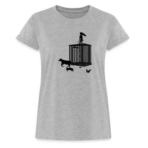 Strong Woman - Dame oversize T-shirt