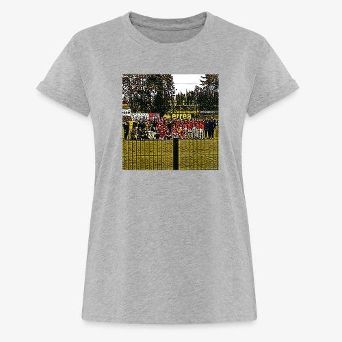 Footbal Match Squadre Calcio - Maglietta ampia da donna