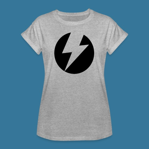 BlueSparks - Inverted - Women's Oversize T-Shirt