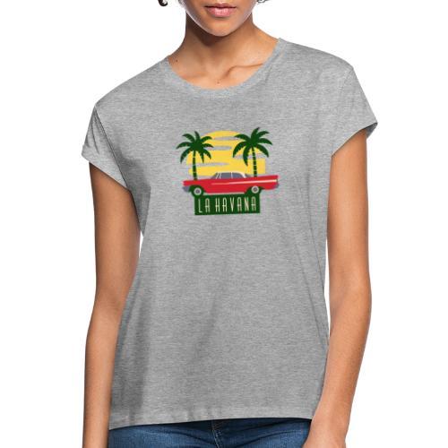 La Havana Vintage - Frauen Oversize T-Shirt