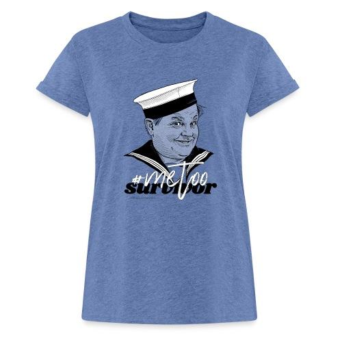 #metoo survivor - Dame oversize T-shirt