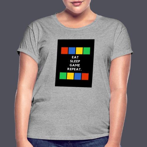 Eat, Sleep, Game, Repeat T-shirt - Women's Oversize T-Shirt