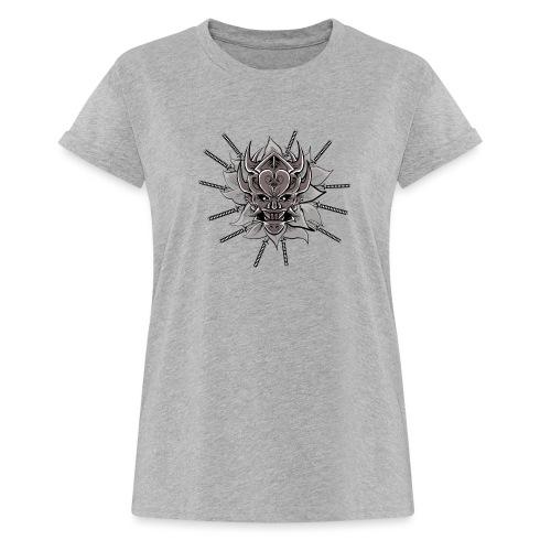 Lotus Of The Samurai - Vrouwen oversize T-shirt