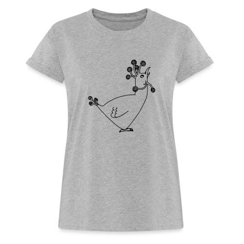 Cosmic Chicken - Women's Oversize T-Shirt