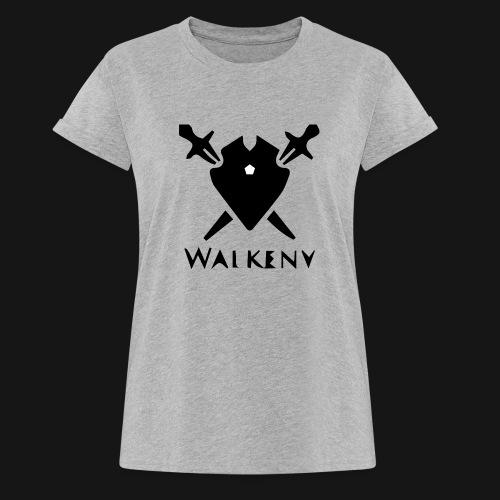 Walkeny Schwert Logo! - Frauen Oversize T-Shirt