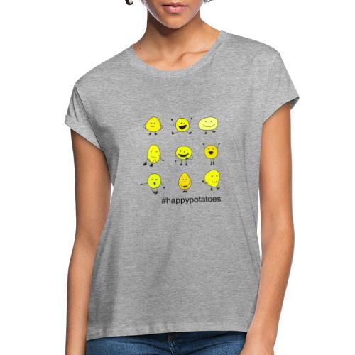 9 smilies - Frauen Oversize T-Shirt