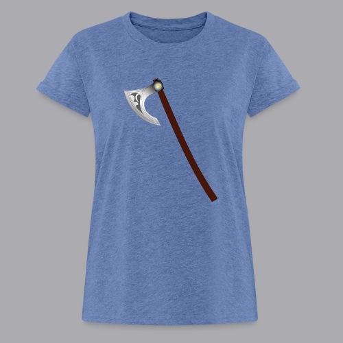 Wikinger Beil - Frauen Oversize T-Shirt