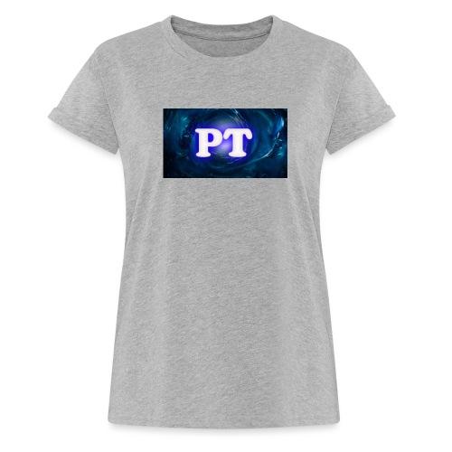 Project T Logo - Women's Oversize T-Shirt