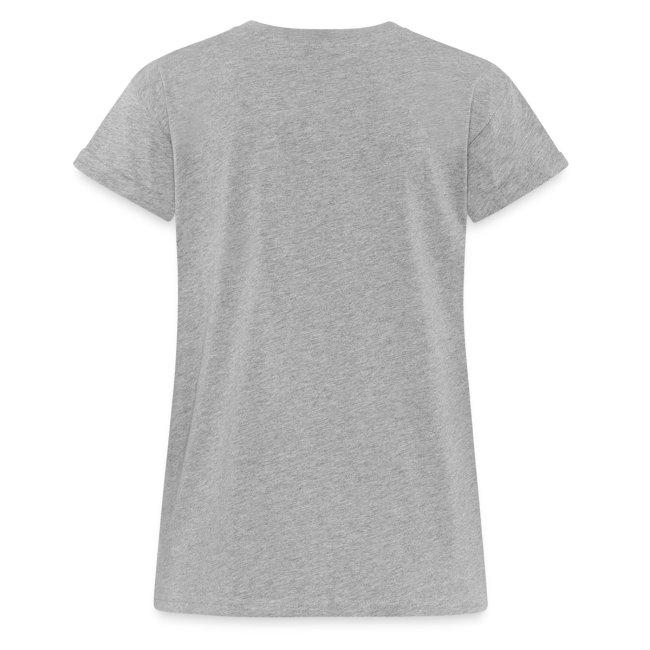 Vorschau: Leben mit Hund - Frauen Oversize T-Shirt