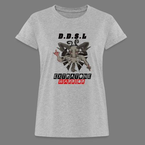 DDSL E W M.A.X - Vrouwen oversize T-shirt