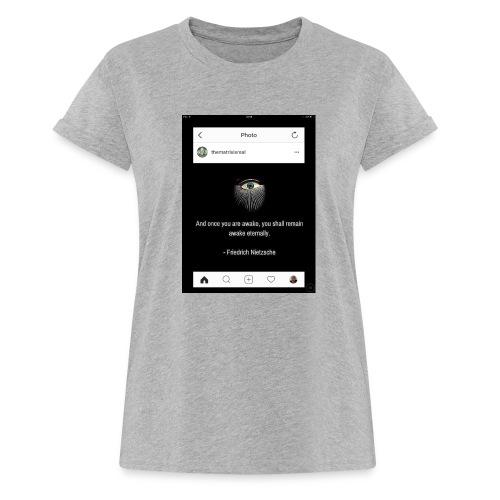 81F94047 B66E 4D6C 81E0 34B662128780 - Women's Oversize T-Shirt