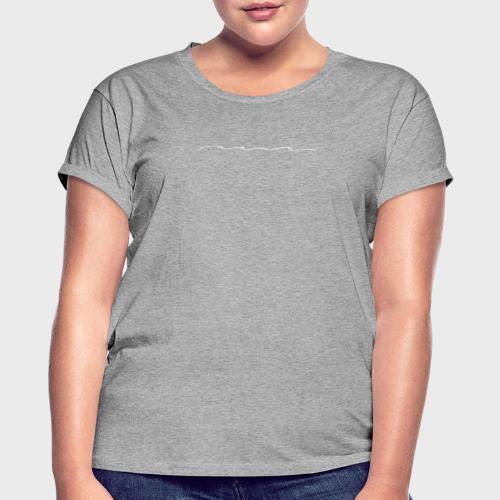 Mama white – Mama Kollektion - Frauen Oversize T-Shirt