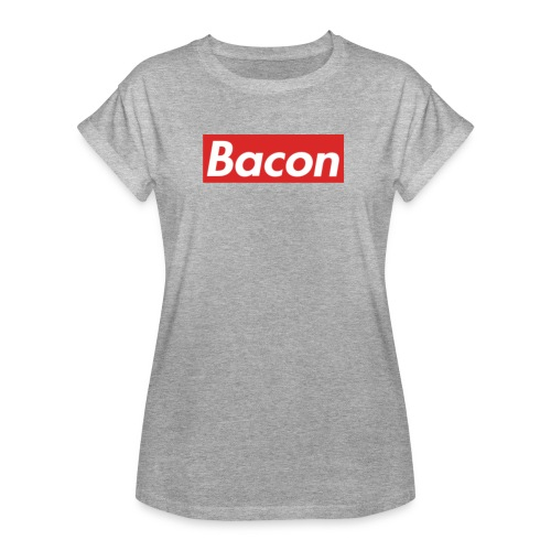 Bacon - Oversize-T-shirt dam