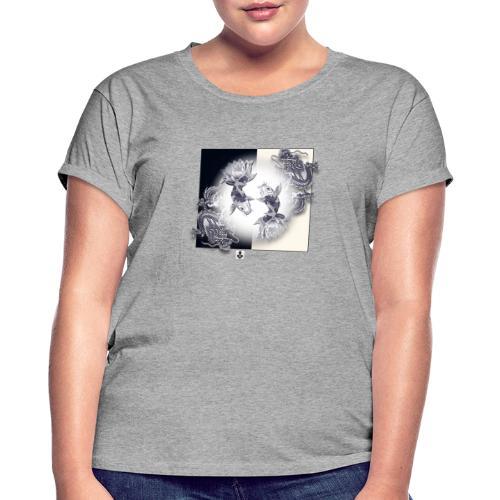 TSHIRT MUTAGENE TATOO DragKoi - T-shirt oversize Femme