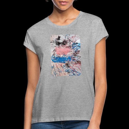 Emelie Kunstwerk V. - Frauen Oversize T-Shirt