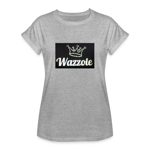 Wazzole crown range - Women's Oversize T-Shirt