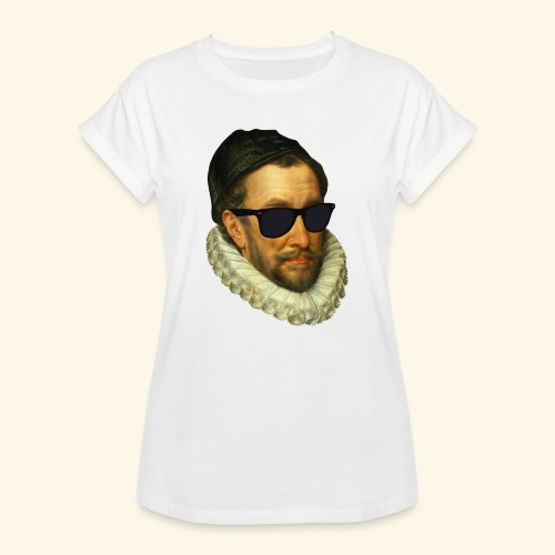 Fijn Uitgedoste Barbaar (zonder tekst) - Vrouwen oversize T-shirt