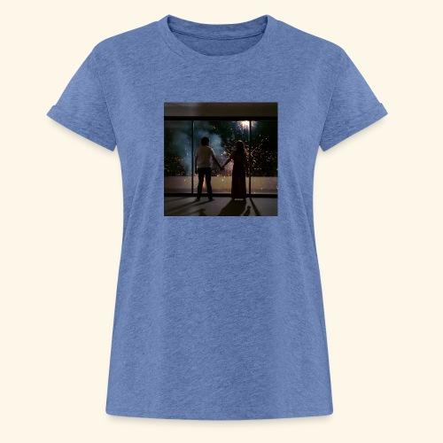 Mum look at me, I'm really okay. - T-shirt oversize Femme