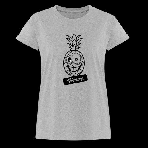 Design Ananas Heavy - T-shirt oversize Femme