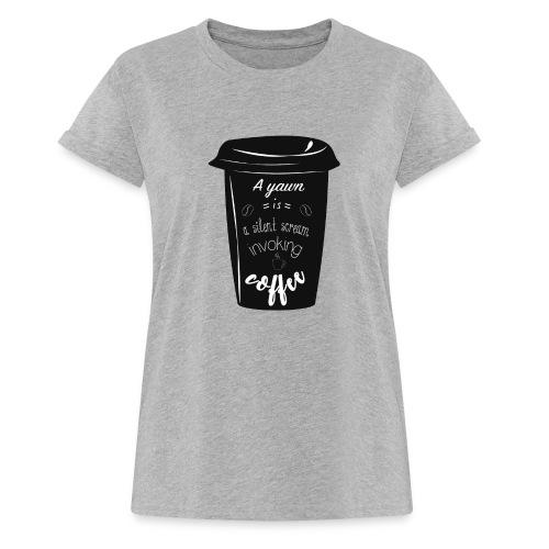 Coffee - Maglietta ampia da donna
