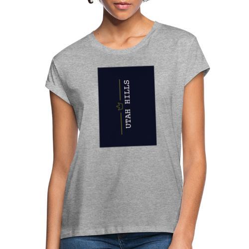 Utah hills - Dame oversize T-shirt