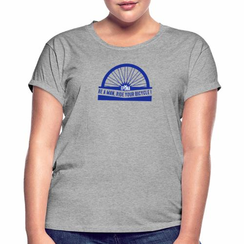 be a man - T-shirt oversize Femme