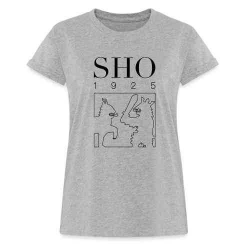 SHO 1925 - Naisten oversized-t-paita
