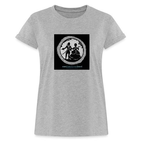 SHB - Näkymätön mies - Naisten oversized-t-paita