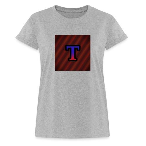 Logo - Vrouwen oversize T-shirt
