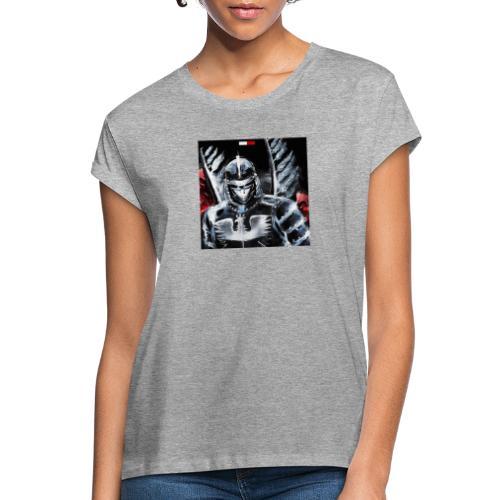 koszulka patriotyczna husaria - Koszulka damska oversize