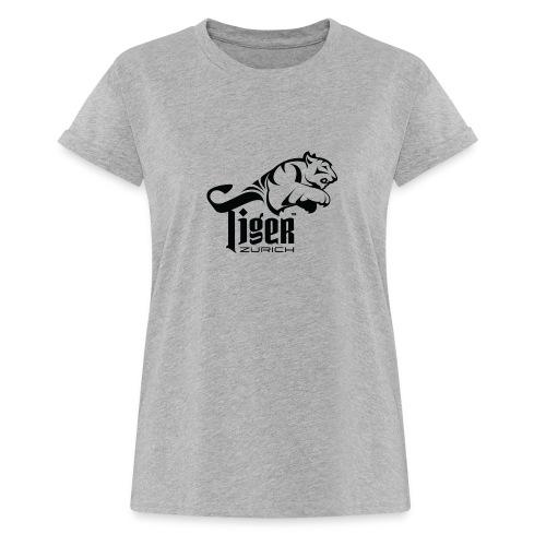 TIGER ZURICH digitaltransfer - Frauen Oversize T-Shirt