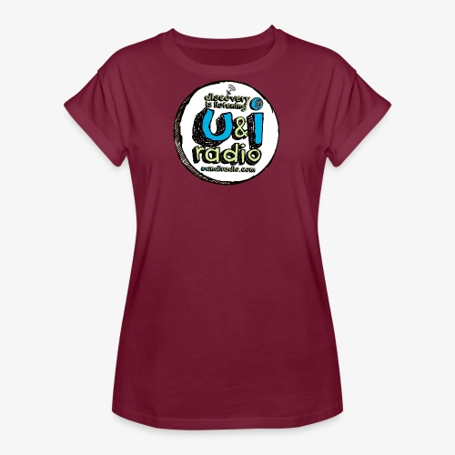 U & I Logo - Women's Oversize T-Shirt