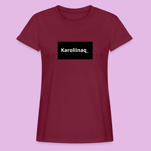 Karoliinaq_ - Naisten oversized-t-paita